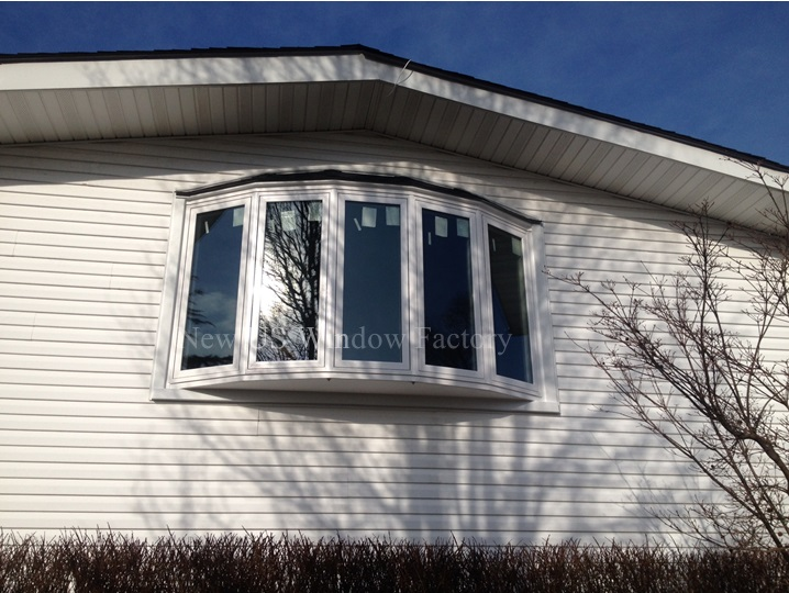 New 5-lite Bow Window with all 5-lites operable. Homeowners delighted with results.